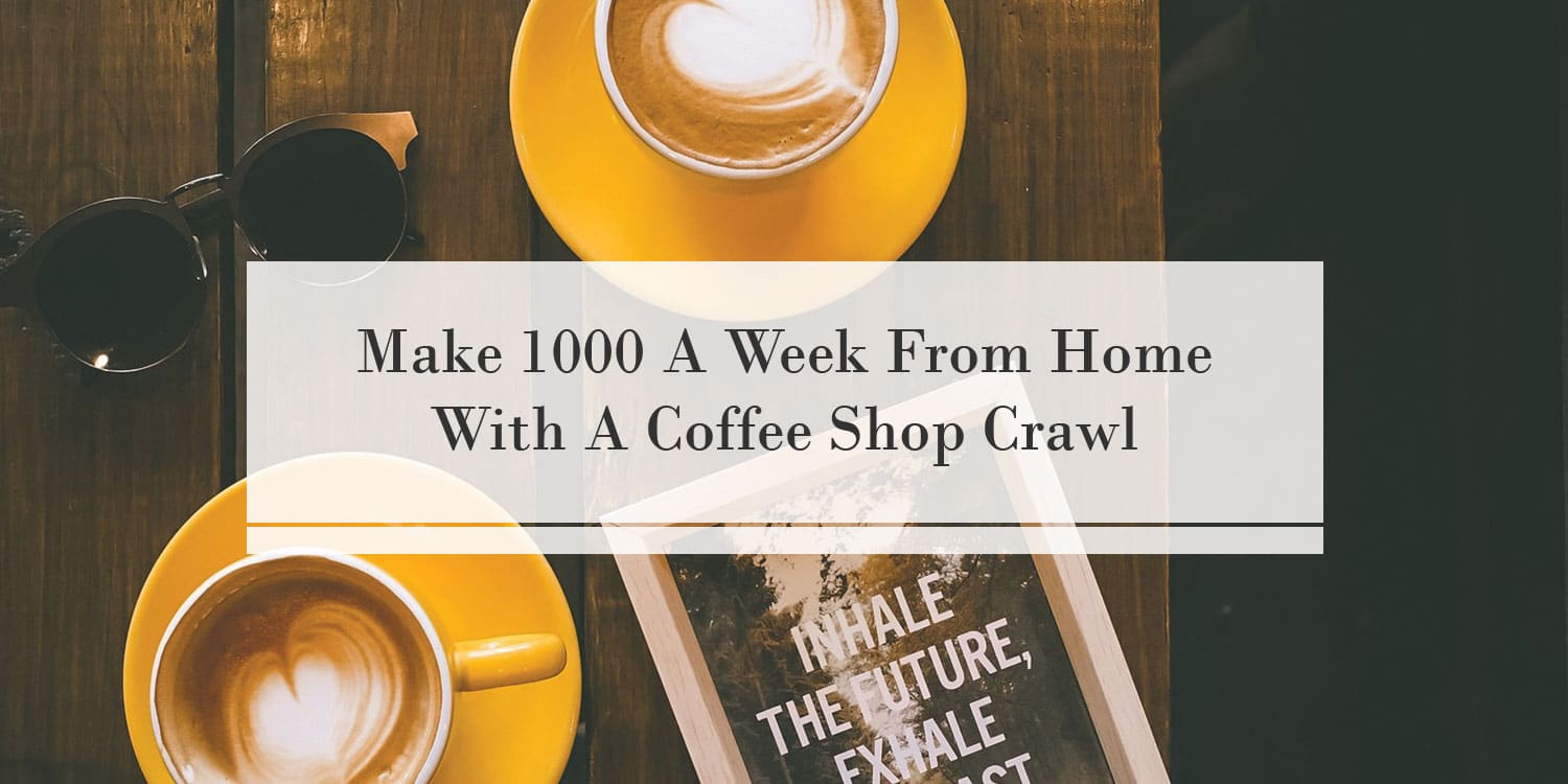 Side Hustle Idea To Make 1000 A Week From Home!
