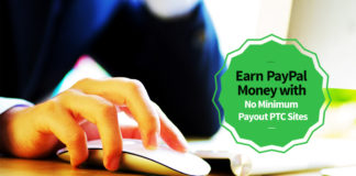 Earn PayPal Money No Minimum Payout
