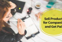 Sell Products for Companies and Get Paid