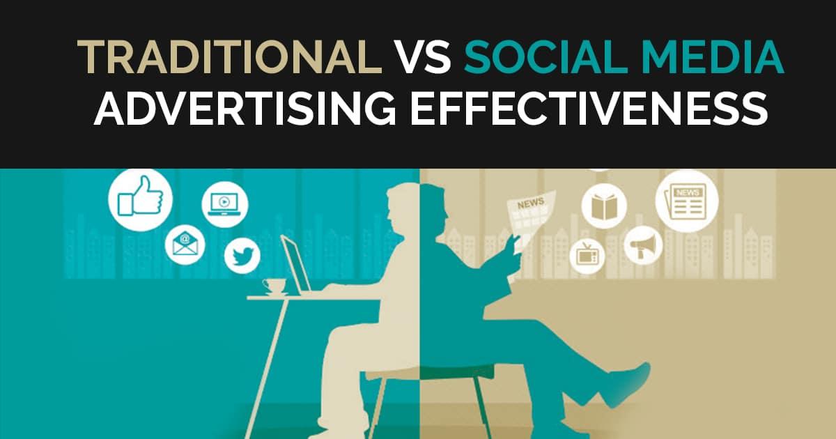 Traditional Vs Social Media Advertising Effectiveness