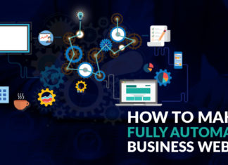 Make A Fully Automated Business Website