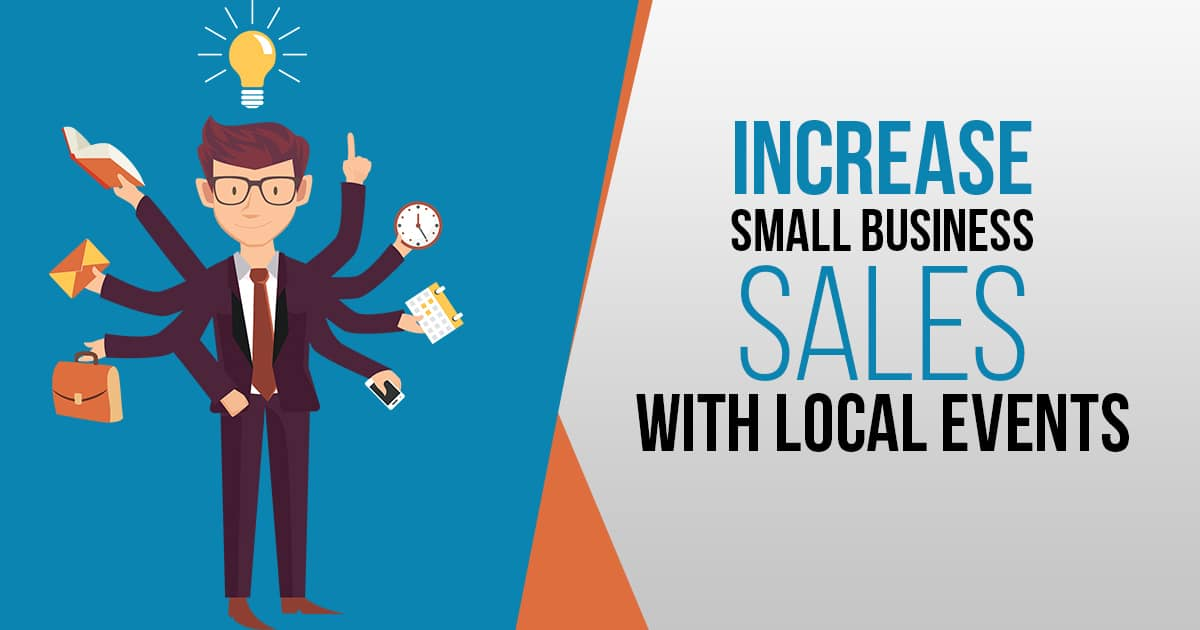 Increase Small Business Sales With Events