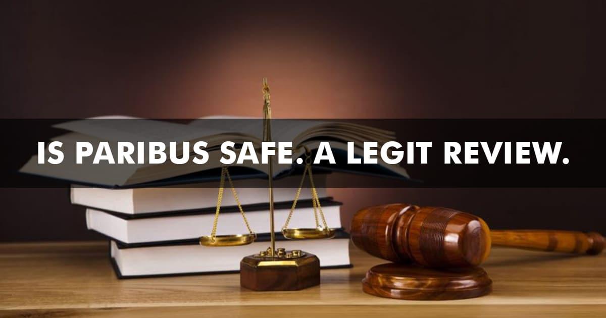 Is Paribus Safe Review