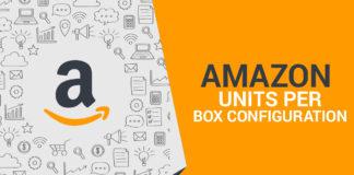 Amazon Units Per Box Configuration