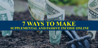 Ways to Make Supplemental And Passive Income Online