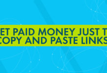 Get Paid Money Just To Copy and Paste Links
