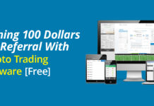Earning 100 Dollars Per Referral Crypto Trading Software
