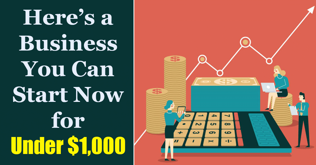 Business You Can Start for Under 1000