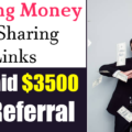 Earning Money By Sharing Links