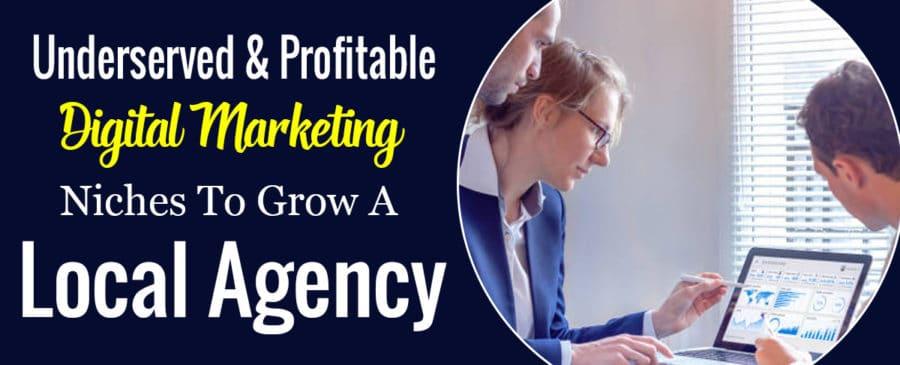Profitable Digital Marketing Niches