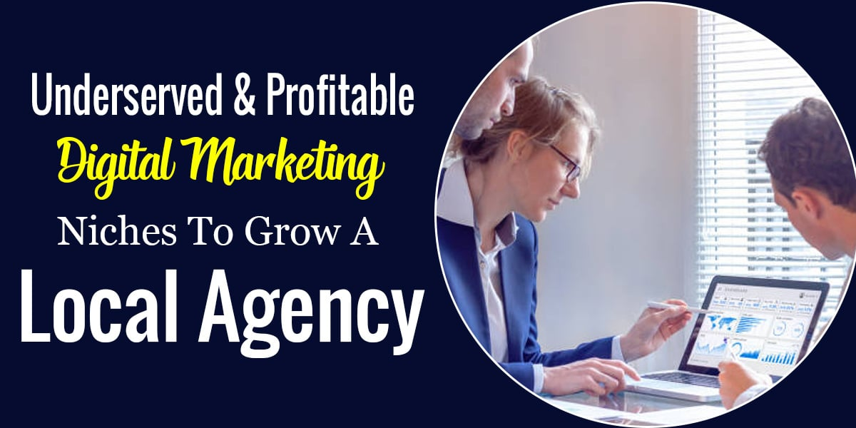 Underserved & Profitable Digital Marketing Niches To Grow A Local Agency