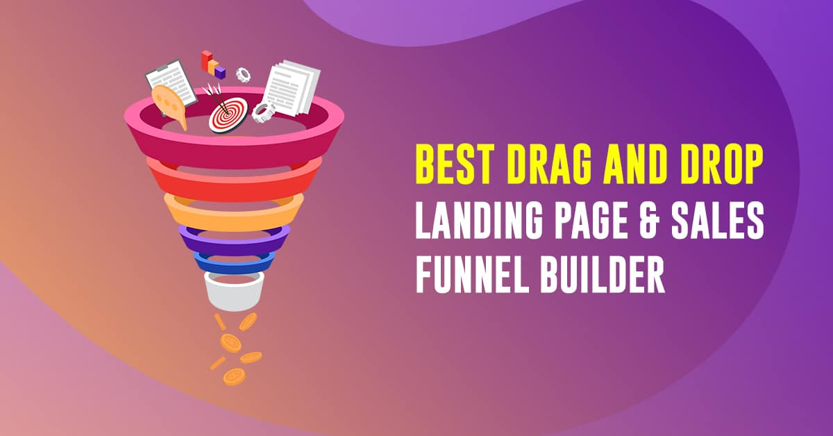 Drag And Drop Sales Funnel Builder