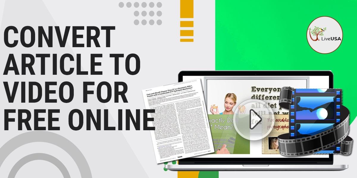 Convert Article to Video for Free Online